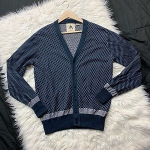 anthropologie   feathers button down cardigan
